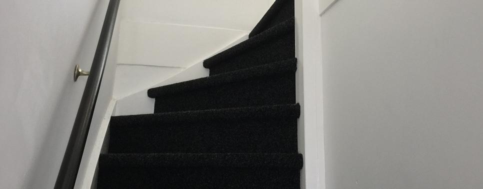 Trappen bekleden inclusief tapijt